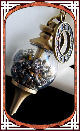 """""""Time in Bottle"""" Necklace"""