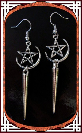"""Boucles """"Witch Moon"""""""