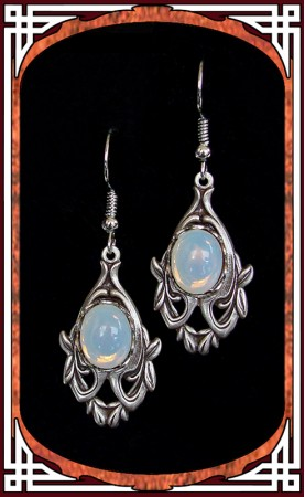 "White Opal ""Avalon"" Earrings"