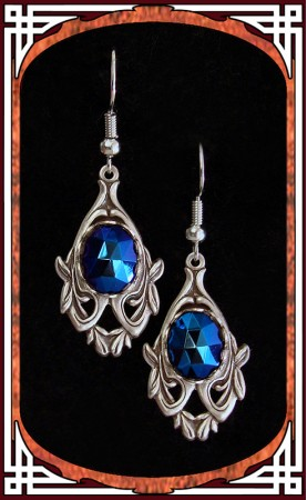 "Night Blue ""Avalon"" Earrings"