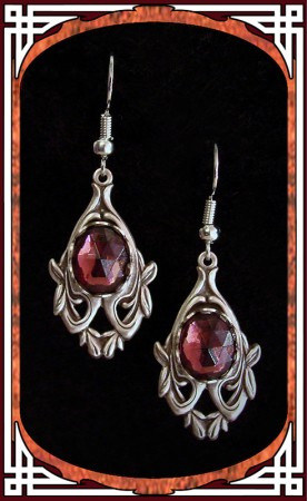 "Amethyst ""Avalon"" Earrings"