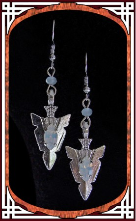 "Opal ""Amazonia"" Earrings"
