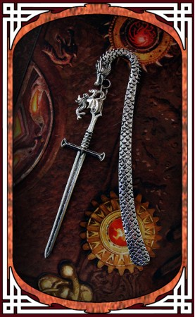 "Bookmark ""Dragon Sword"""