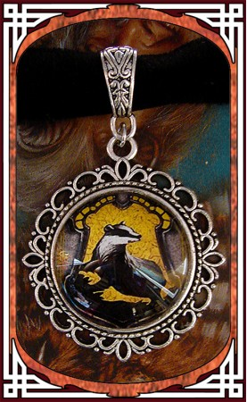 "Choker ""Golden Badger"""