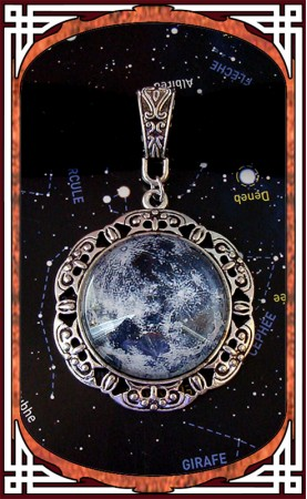 "Collier ""Destination Lune"""