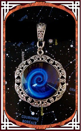 "Collier ""Vortex Spatial"""