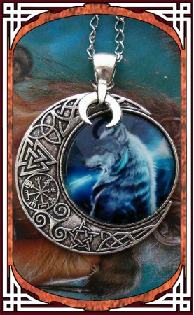 "Wolf Necklace ""Equinox"""