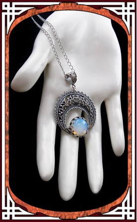 "Bronze ""Hallows"" Necklace ~..."