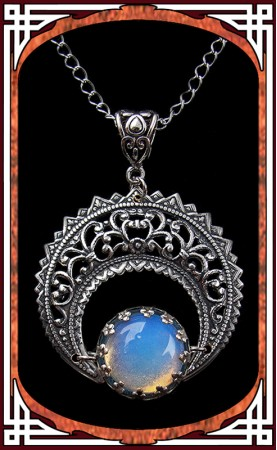 "Collier Lune ""Eclipse"""