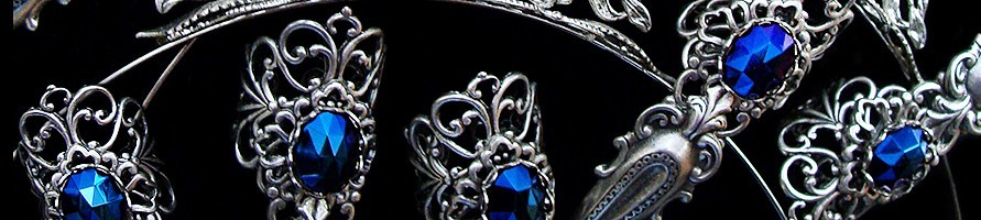 Gothic CLAW RINGS Catalog at A MON SEUL DESIR Boutique
