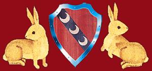 Blason Medieval et Lapins