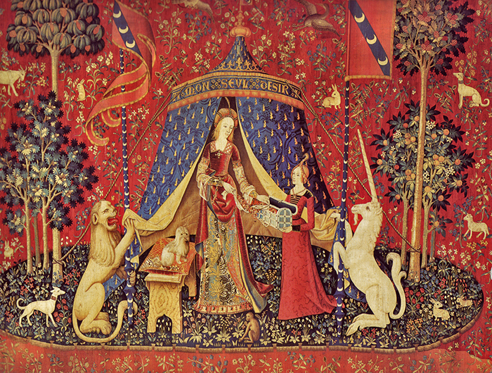 A Mon Seul Désir Tapisserie La dame à la Licorne Cluny