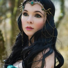 👑🍃 Photographer : Leena Photography Model : La FaeSan Antlers Diadem @amonseuldesir_boutique  🍃👑 #FantasyGirl #AntlersDiadem #ElvenBeauty #Pagan #FantasyBeauty #PaganGirl #Witchy #WiccanGirl #ElfBeauty #ForestSpirit #MotherNature #AntlersCrown #Wiccan #ForestWitch